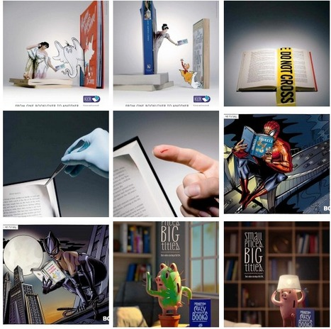 Las mejores campañas publicitarias de librerías | Red Profesional de Bibliotecas Escolares de Granada | Scoop.it