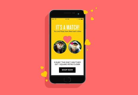 The Body Shop utilise Tinder pour défendre les animaux | Marketing & advertising 2.0 | Scoop.it