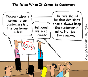 Customer Service May Rule, But Rules in Customer Service Don't - Business 2 Community | Digital-News on Scoop.it today | Scoop.it