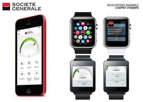 La Société Générale se met aux montres connectées | Internet du Futur | Scoop.it