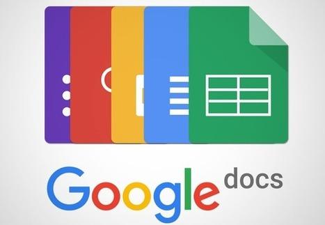 Google Docs permet de créer un ebook au format .epub | Animation Numérique de Territoire | Scoop.it