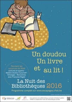 La Nuit des bibliothèques à la Bibliothèque publique locale de Nivelles | Escapages | Scoop.it