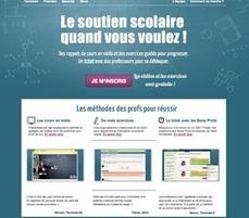 Un nouveau site de soutien scolaire | Education | Scoop.it