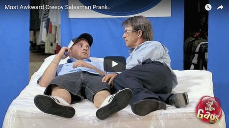 Most Awkward Creepy Salesman Prank: Cool Sites - All Site Café | cool sites | fun sites | entertainment | play computer games | Scoop.it