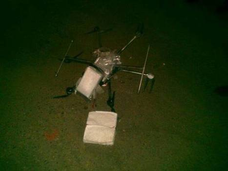 Drug Drone: Meth-Carrying Hexacopter Crashes Near US/Mexico Border | Technology by Mike | Scoop.it