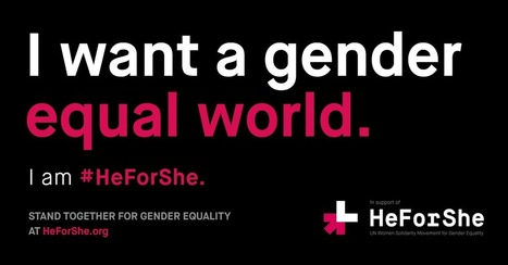 #HeForShe IMPACT CEOs release gender parity data at Davos 2016 | Women's equality | Scoop.it