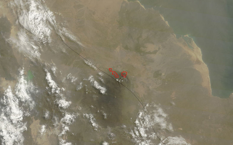 NASA - Three Active Volcanoes Spotted on Satellite Imagery from NASA | Meghan-GeogLog | Scoop.it