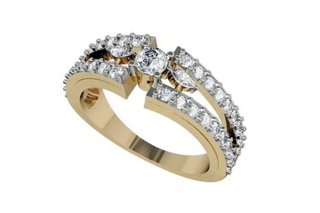 Buy Nina Diamond Engagement Ring | Diamond Solitaire Ring | Scoop.it