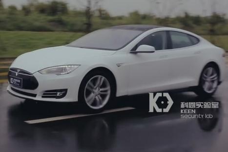 Des hackers ont réussi à pirater une Tesla Model S à distance | PHMC Press | Scoop.it