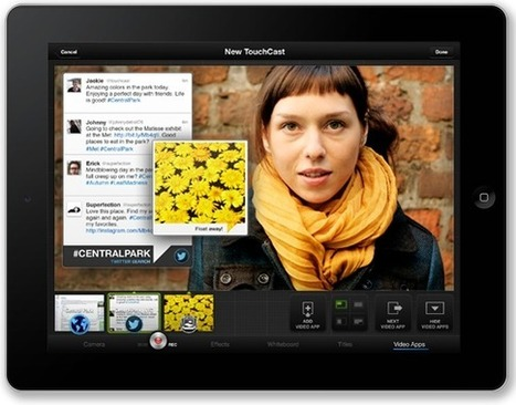 Touchcast - a new way of making videos for professional use   ORG @nd beyond   Scoop.it