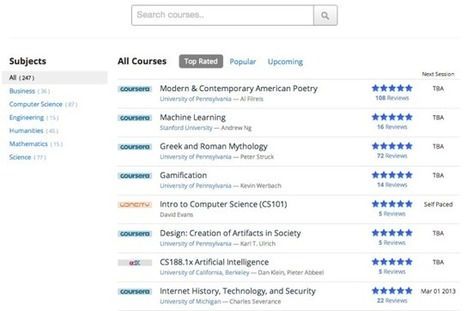 CourseTalk Launches A Yelp For Open Online Courses | Collective Intelligence & Distance Learning | Scoop.it