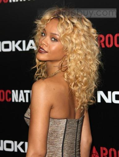 Rihanna Haircut Beautiful Lace Wig about 18inches Curly 100%Human Hair | cosplay | Scoop.it