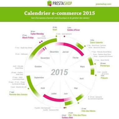 Calendrier des actions e-commerce 2015 | Le web pour les tpe et pme | Scoop.it