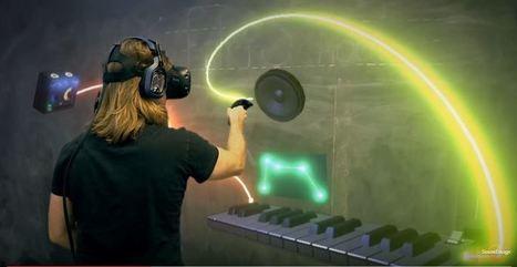 SoundStage For HTC Vive Lets Musicians Build A Dream Music Studio For Ten Bucks | KidsEatHealthy | Scoop.it