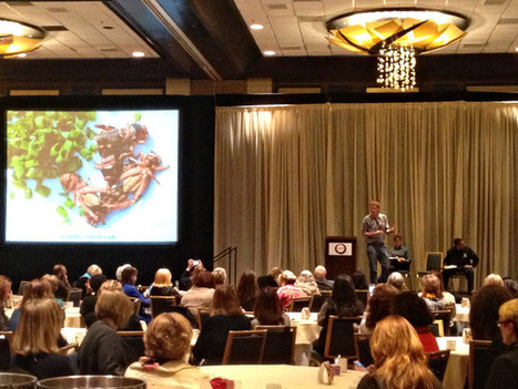 Insect-eating research - Four Fascinating Moments from the International Association of Culinary Professionals Conference | miamidish.net | Interesting Insects | Scoop.it