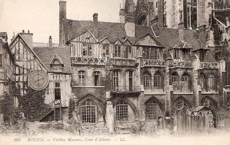Le cadran d'horloge de la cour d'Albane | P'tit Pat' Rouennais | Rhit Genealogie | Scoop.it