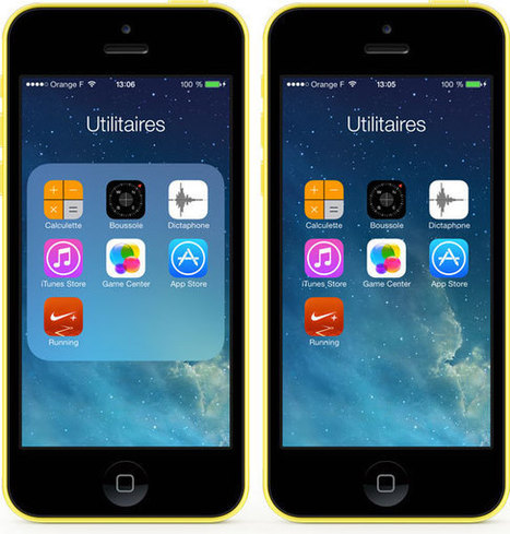 Tweak : ClearFolders, rendre le fond des dossiers transparent. | Geeks | Scoop.it