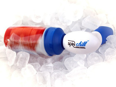 The SpinChill helps cool your drink down in no time at all | Mouth to Mouth - Food Chain Design and Experience | Scoop.it