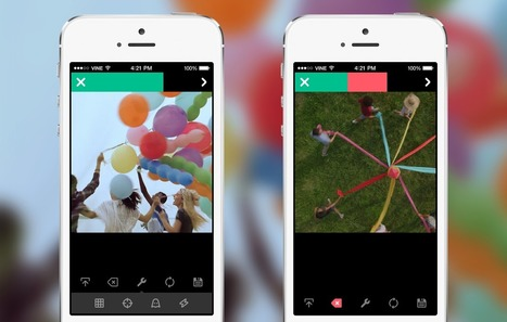 New Vine camera: Shoot, import, edit and share -- fast   Media Education   Scoop.it
