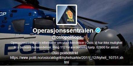 La police d'Oslo primée pour son humour sur Twitter | Actu Web, Réseaux sociaux et e-marketing | Scoop.it