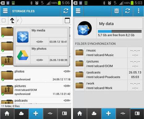 Administrar Dropbox, Drive y otros servicios de almacenamiento desde Android con CloudCube | Diario de las Tecnologías | Scoop.it