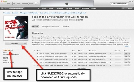 How to Download and Listen to Podcasts   Zac Johnson   Podcasts   Scoop.it