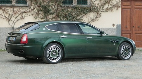 Unique Maserati Quattroporte Shooting Brake Up for Auction   Euro Car Review   Scoop.it