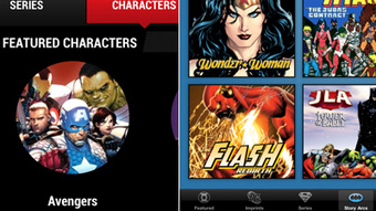 Marvel and DC apps: Disappointing digital endeavors from comics giants - Los Angeles Times | Comic books | Scoop.it