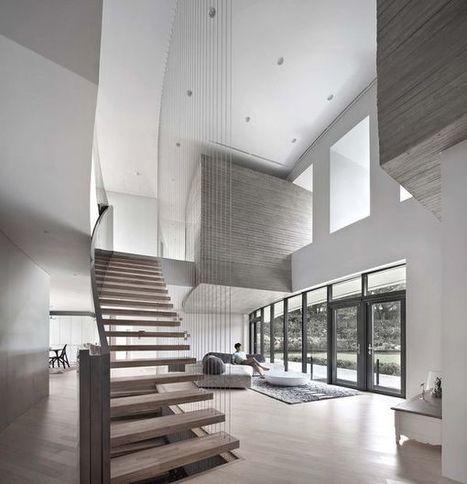 Architecture atypique en béton pour maison côtière en Corée du Sud   Construire Tendance   Dans l'actu   Doc' ESTP   Scoop.it