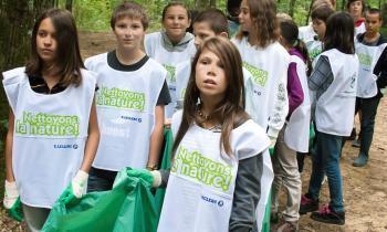 Aignan. Nettoyer la nature - La Dépêche   Le Collège Vert dans la Presse   Scoop.it