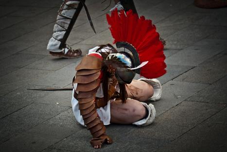 ¡Escucha gladiador! Lucha y suda, pero sobre todo suda | Mundo Clásico | Scoop.it