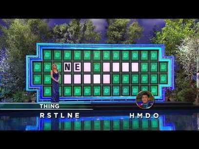 Wheel of Fortune: Amazing Bonus Round Solve! | cell phone | Scoop.it