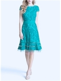 $ 90.99 Casual New Arrival All-matched Pure Color Embroidery Dress | Fashion ladies | Scoop.it