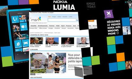 Lancement animé pour le Nokia Lumia   Créativité   Bilans internet, media, réseaux sociaux de 2011   Scoop.it