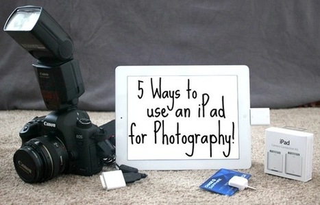 5 Ways for Photographers to use an iPad to Jumpstart their Business | Social Photography | Scoop.it