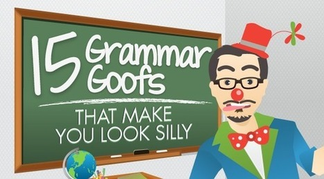 15 Grammar Mistakes That Make Your Business Look Stupid | E-Learning Suggestions, Ideas, and Tips | Scoop.it