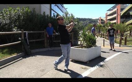 VIDEO. Le Street golf: le bitume à la place du green à Nice | Nouvelles du golf | Scoop.it
