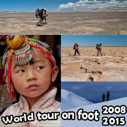 The world tour on foot | Perpetual Travelling | Scoop.it