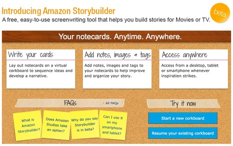 Amazon Storybuilder | Story and Narrative | Scoop.it