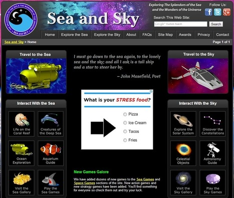 Learning Never Stops: 7 (more) websites that make learning science fun | SCIENCE | Scoop.it