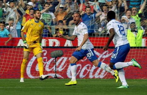 Apoño le marcó dos goles a su excompañero Rubén. - La Opinión de Málaga | andalucía | Scoop.it