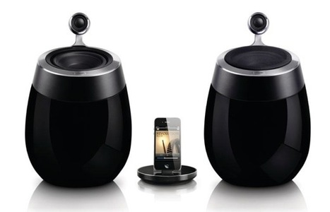 Philips Fidelio SoundSphere par 01net.com   omnidirectionnal speaker   Scoop.it