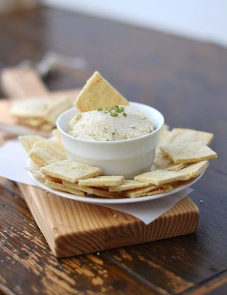 Cashew Cream Cheese and Chives Recipe - 24 Carrot Kitchen | Passion for Cooking | Scoop.it