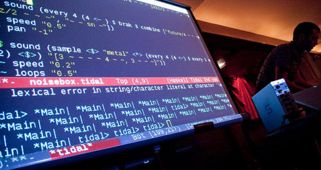 Algoraving: Dancing to Live Coding   Red Bull Music Academy   VeryVeryMuch   Scoop.it