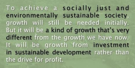 Money creation and sustainable development | Peer2Politics | Scoop.it