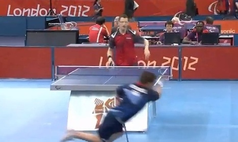 Paralympic Table Tennis Shot Astounds and Inspires [VIDEO]   Prozac Moments   Scoop.it