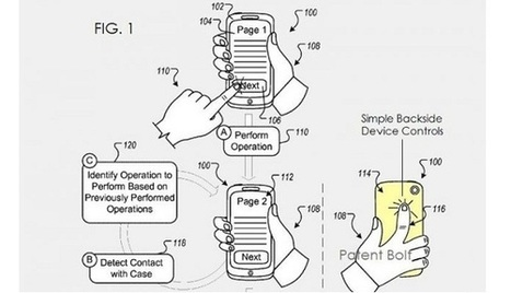 Google dépose «simple backside device touch controls» | Android for Business | Scoop.it
