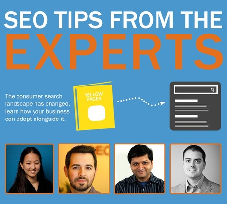 Top SEO Tips Straight From the Industry Experts [INFOGRAPHIC] | Social Media Latest Trends | Scoop.it