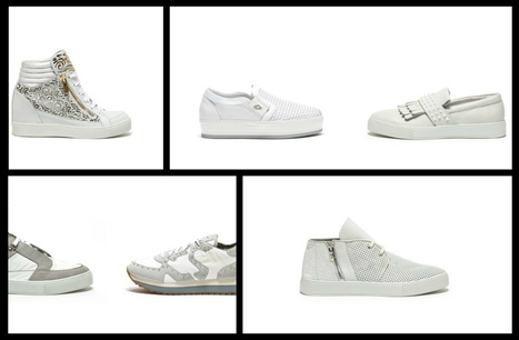Alberto Guardiani, White Sneakers SS2015 | Le Marche & Fashion | Scoop.it