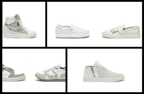 Alberto Guardiani, White Sneakers SS2015 | Le Marche & Fashion | Scoop.it
